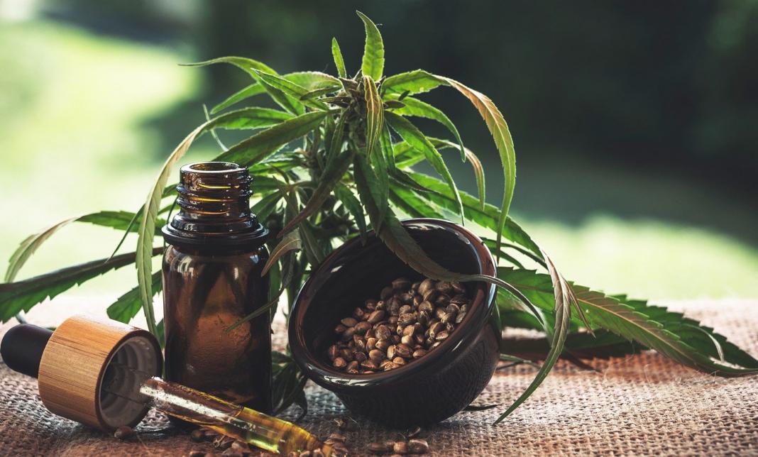 huiles graines gélules - produits à base de fleurs CBD